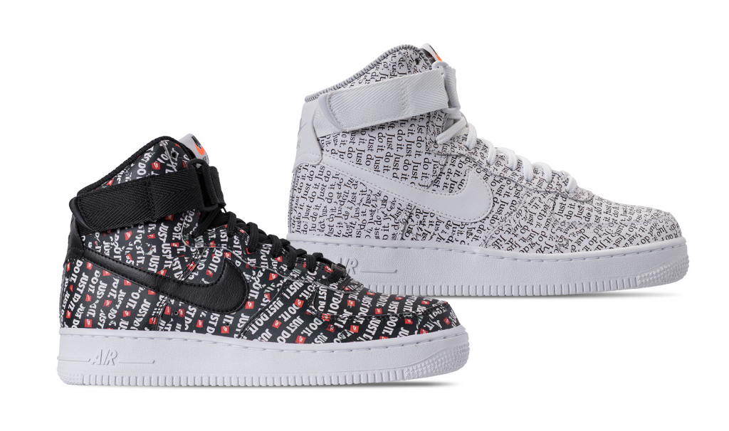 Take A Look At Nike S Air Force 1 Just Do It Pack