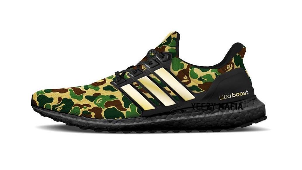 4a29d2827 BAPE and adidas To Release New Collaboration in January 2019