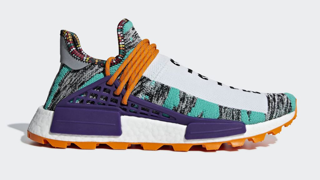 "a131ce669 Pharrell Williams x adidas Originals NMD Hu ""Solar"" Pack Arrives in August"