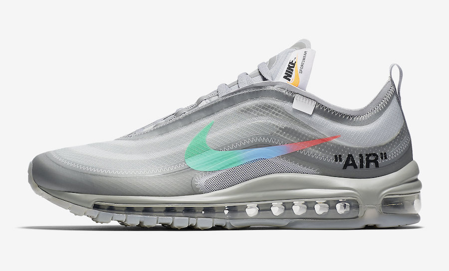 "17b96aff5338f Off-White and Nike Return With A Brand New Nike Air Max 97 ""Menta""  Collaboration"