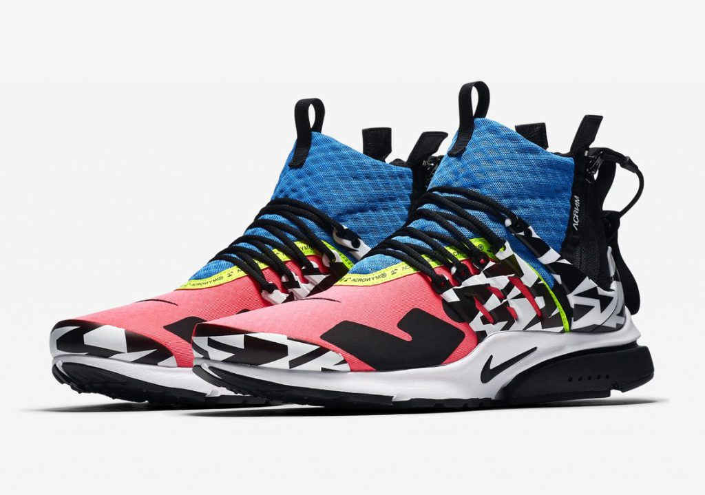 sports shoes 2a37b ee0ce ACRONYM x Nike Air Presto Mid Drops in Singapore on Sep 20