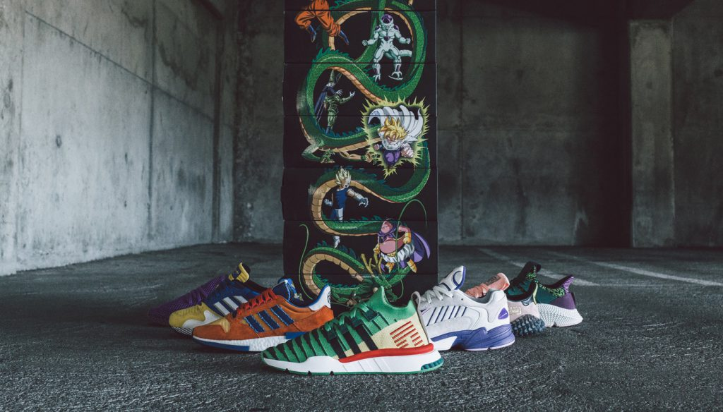 Image result for Full Dragon Ball Z x Adidas Sneaker Collection