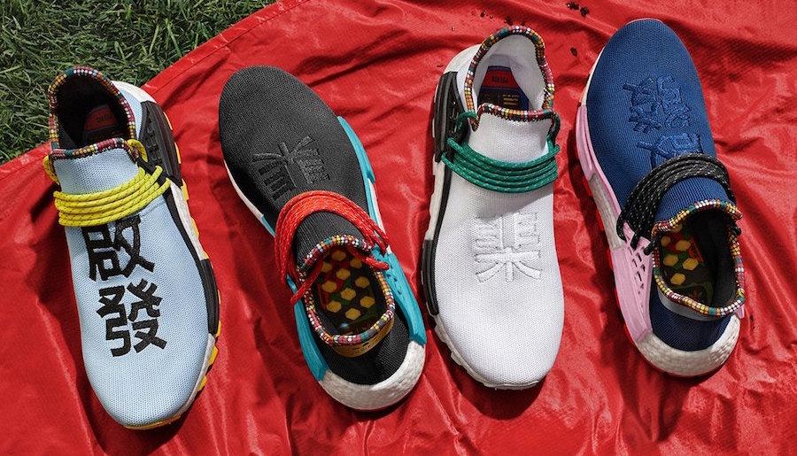 "fc0445b6 Pharrell x adidas NMD Hu ""Inspiration Pack"" Drops in Singapore on Nov 10"