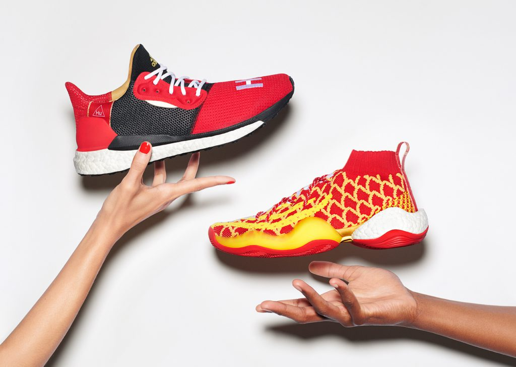 "a2514bfc1 adidas and Pharrell Williams To Launch ""Chinese New Year"" Hu Pack on Jan 26"
