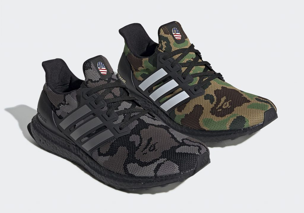 detailed look 7889c 58d6a Here Are The Official Images of the BAPE x adidas UltraBOOST