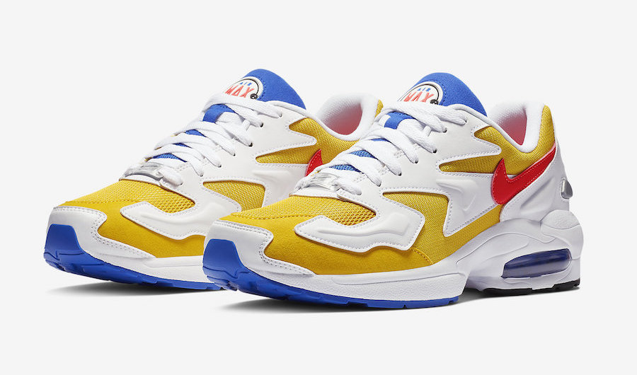 save off a304b 69de3 This Beautifully Retro Colourway of the Nike Air Max2 Light Drops in S pore  on Feb 28