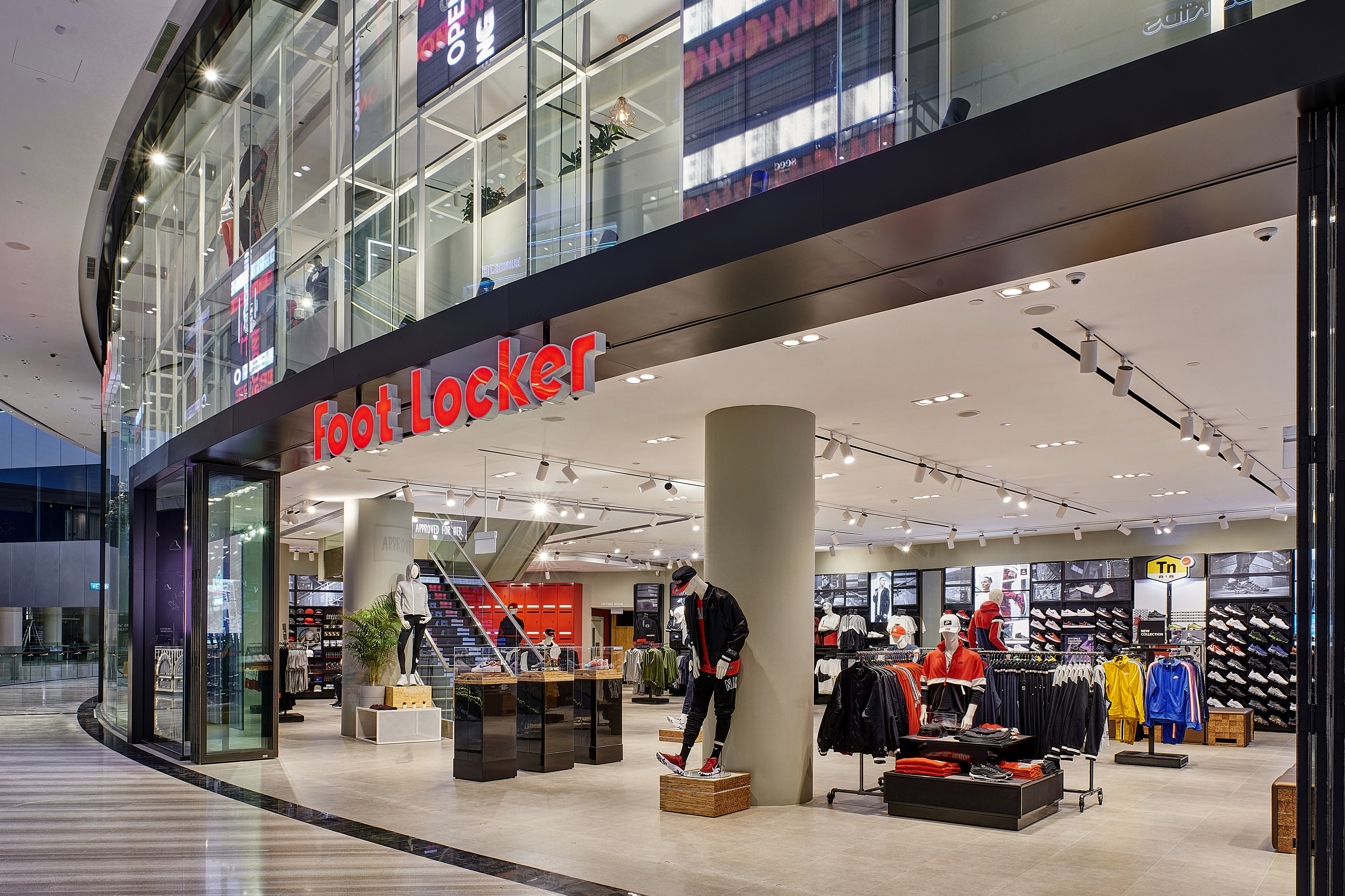85d7dab83e74c9 Foot Locker Opens Its Fourth Singapore Store at Jewel Changi Airport