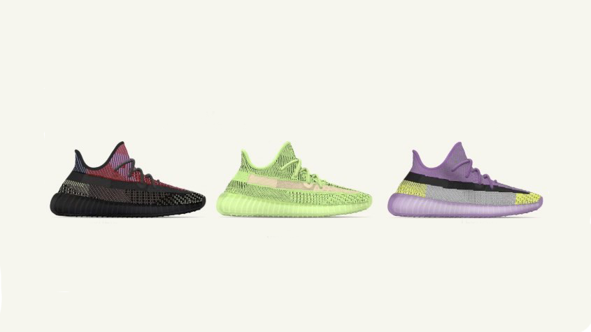 Kanye West Shares Images of Two New Glow in the Dark adidas